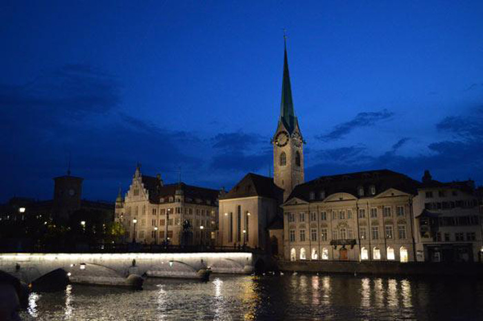 zurich-at-night