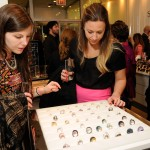 SAIC students look at Swarovski's ring collection