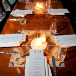 Swarovski dinner at RM Champagne and Salon