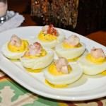 Lobster Deviled Eggs at RM Champagne Salon