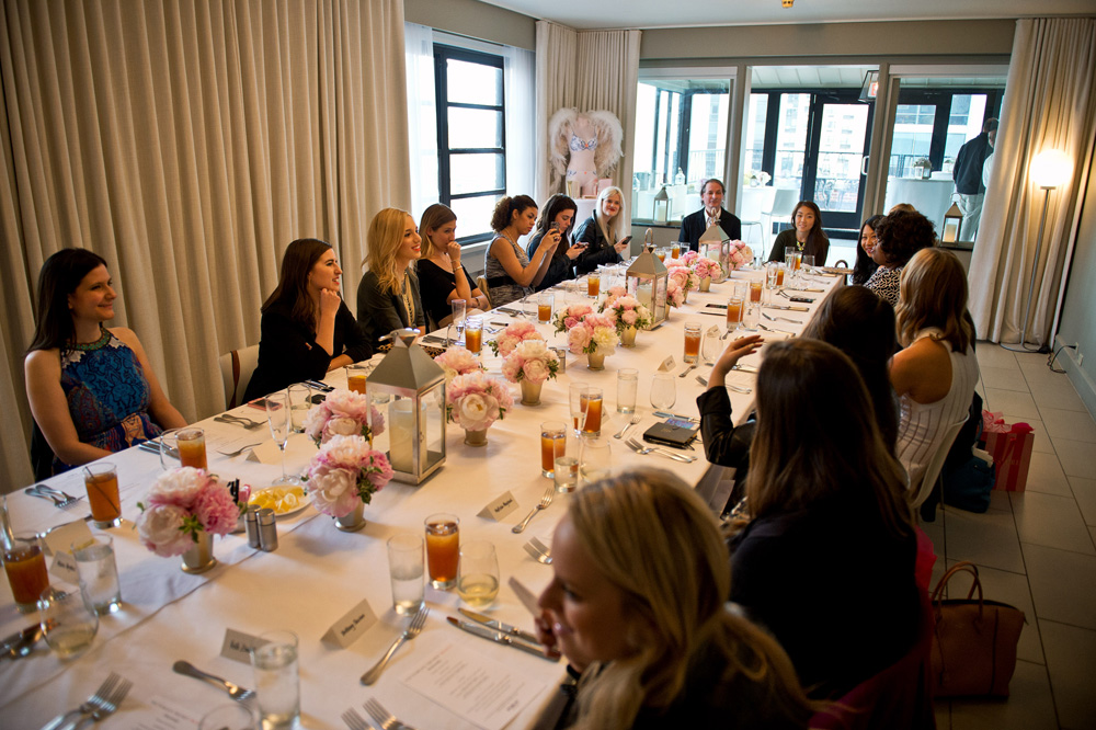 *NOT FOR SITE* Heavenly Luncheon With Karlie Kloss
