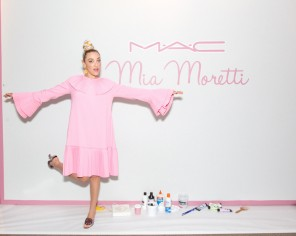 M·A·C Celebrates Collaboration with MIA MORETTI at LOLLAPALOOZA Weekend