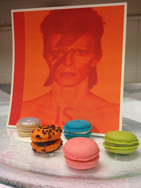 The Ritz-Carlton Chicago David Bowie Macaroons