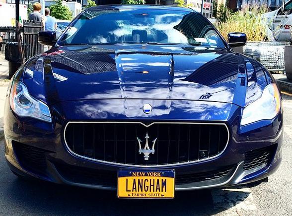 Langham New York Maserati